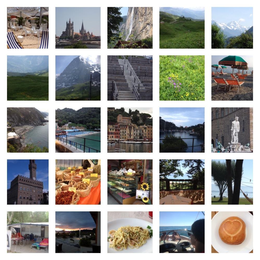 vakantie2013 collage