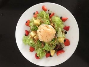 geiten kaas salade